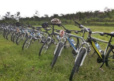 Paket Wisata Adventure Bali - Cycling Ubud Camp 2015