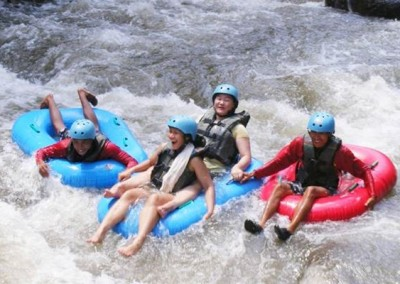 Paket Wisata Adventure Bali - Tubing Ubud Camp 2015