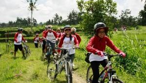 Bali Amazing Race Ubud Camp Full Day – Cycling & Rafting 02