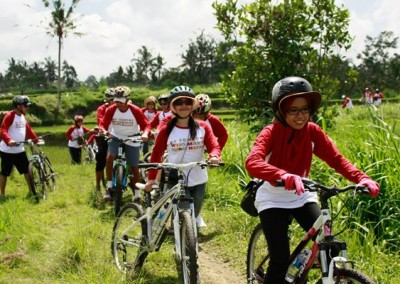 Bali Amazing Race Ubud Camp Full Day – Cycling & Rafting 02