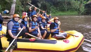 Bali Amazing Race Ubud Camp Full Day – Cycling & Rafting 06B