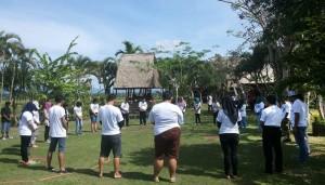 Gathering Di Ubud Camp Bali - PT. Pelabuhan Tiga Bersaudara 01