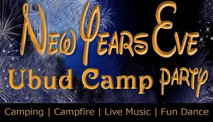 New Year's Eve Ubud Camp Party