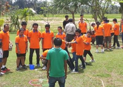 Outbound Bali Fun Team Building Sanata System