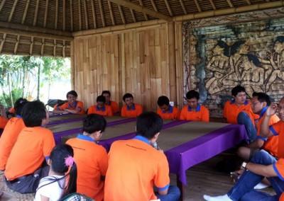 Outbound Bali Sanata System Meeting Ubud Camp