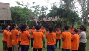 Outbound Ice Breaking Ubud Camp Bali