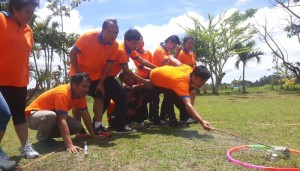 Outbound WCS Sanata System Bali
