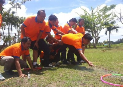 Outbound WCS Sanata System Bali