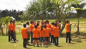 Outbound di Bali Sanata Syatem Camping Ground Ubud Camp