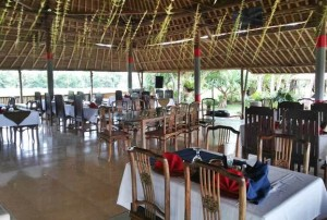 Restaurant Ubud Camp Setting Dinner
