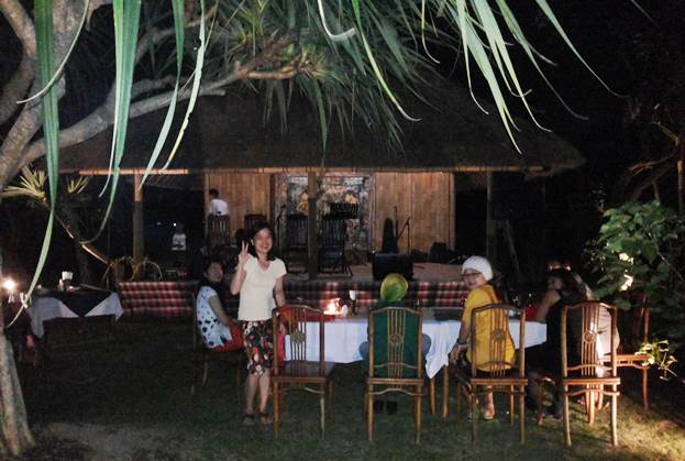 Ubud Camp Restaurant Dinner