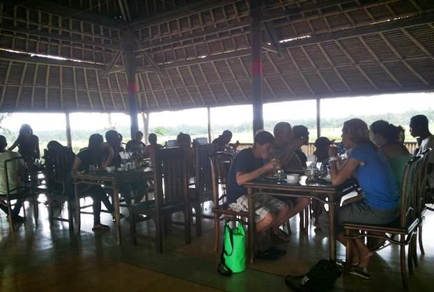 Ubud Camp Restaurant Lunch