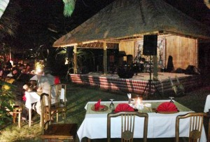Ubud Camp Restaurant Stage