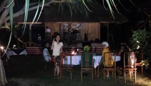 Acara Pesta Malam Tahun Baru 2014 - 2015 di Ubud Camp Bali - Bu Budhi & Friends 01