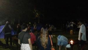 Acara Pesta Malam Tahun Baru 2014 - 2015 di Ubud Camp Bali - Campfire 01