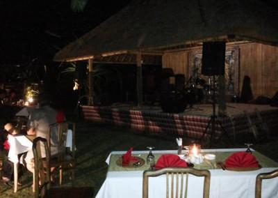 Acara Pesta Malam Tahun Baru 2014 - 2015 di Ubud Camp Bali - Dinner 01