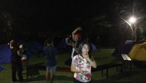 Acara Pesta Malam Tahun Baru 2014 - 2015 di Ubud Camp Bali - Local Bali