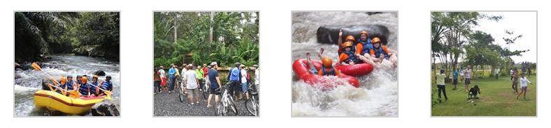 Paket Outing Ubud Camp Untuk Perusahaan Full Day 01
