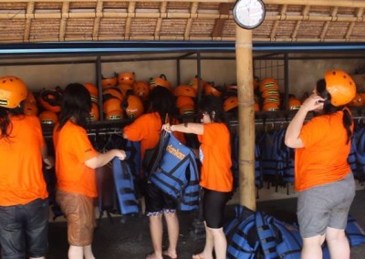 Tubing di Bali Sungai Ayung Bogasari Surabaya 03