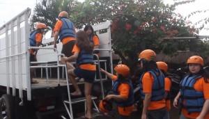 Tubing di Bali Sungai Ayung Bogasari Surabaya 09