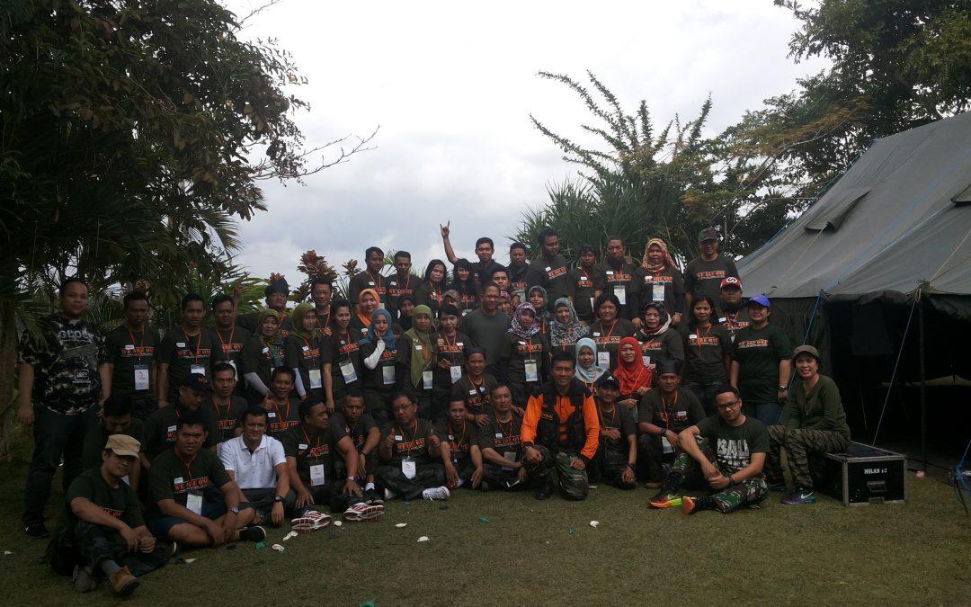 BTPN Outbound di Bali Dengan Tema Militer Feature