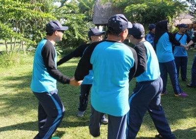 Outbound Dinas Kebudayaan & Pendidikan Kutai Timur - Bersorak