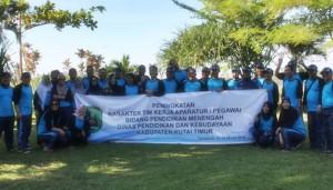 Outbound Dinas Kebudayaan & Pendidikan Kutai Timur - Foto Sesi