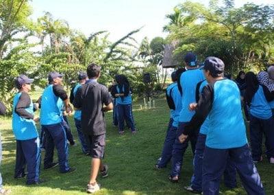 Outbound Dinas Kebudayaan & Pendidikan Kutai Timur - Mendayung