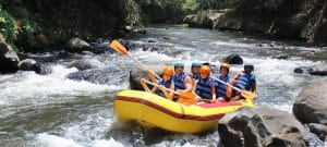 White Water Rafting Bali Ayung River Ubud Camp HI