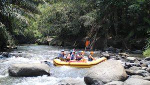 White Water Rafting Bali Ayung River Ubud Camp IG02